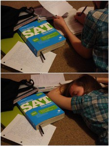 Studying for the SAT