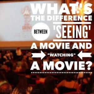 English grammar question--see vs watch